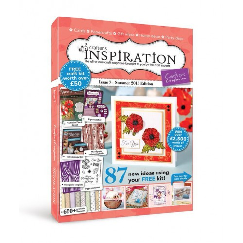 Crafter's Inspiration Issue 7 Summer 2015 Edition (MAG-CI7)